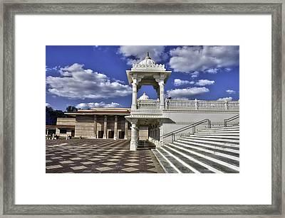 Baps Shri Swaminarayan Mandir Framed Print