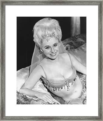 Barbara Windsor In Carry On Spying  Framed Print by Silver Screen