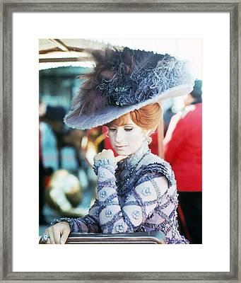Barbra Streisand In Hello, Dolly!  Framed Print