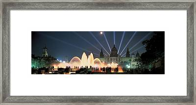 Barcelona Spain Framed Print