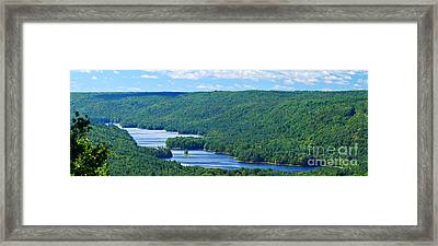 Barkhamsted Reservoir Framed Print
