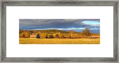Barn In Sleeping Bear Dunes Framed Print by Twenty Two North Photography
