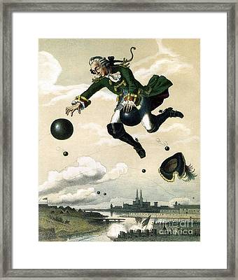 Baron Munchausen  Framed Print