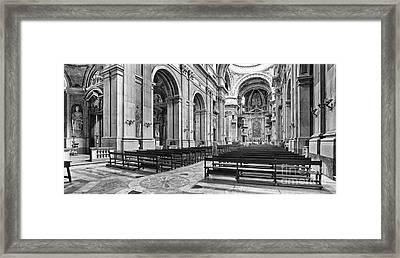 Baroque Palace  Framed Print