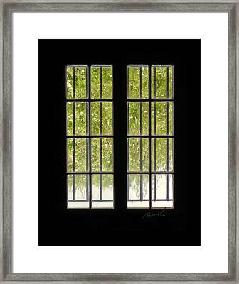 Barred Framed Print by The Art of Marsha Charlebois