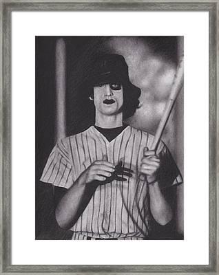 Baseball Furies Framed Print by Brittni DeWeese