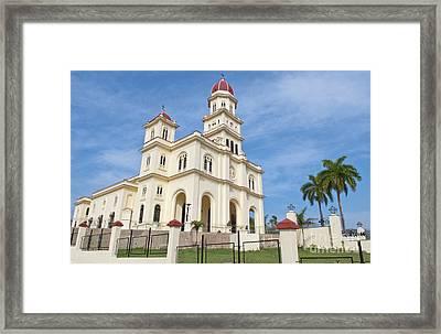 Basilica El Cabre Church, Santiago, Cuba Framed Print