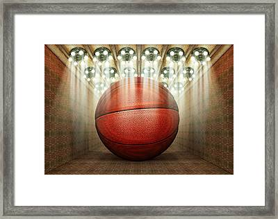 Basketball Museum Framed Print