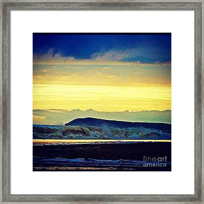 Bass Coast Framed Print
