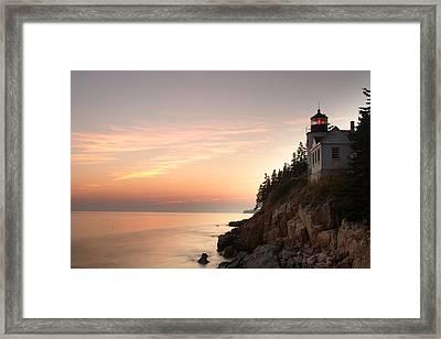 Bass Harbor Lighthouse Framed Print by Eric Foltz