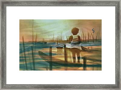 Batang Pinoy 1980 Framed Print