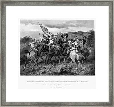 Battle Of Cowpens, 1781 Framed Print