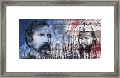 Battle Of Gettysburg Tribute Day Two Framed Print