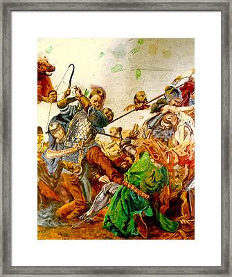 Battle Of Grunwald Framed Print by Henryk Gorecki