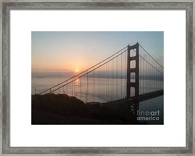 Golden Gate Bridge - 145 Framed Print by Stephen Parker