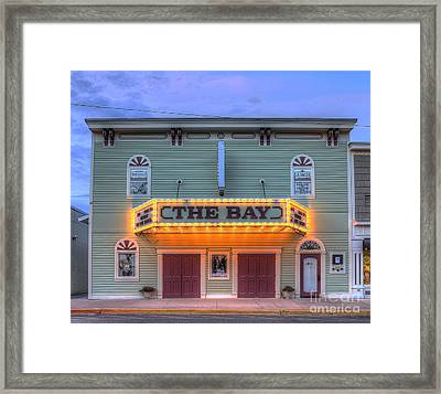 Bay Theatre In Sutton's Bay Framed Print