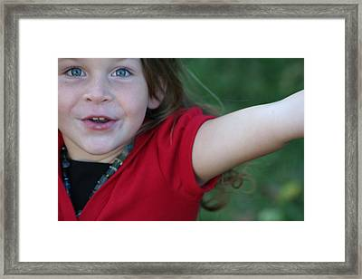 Framed Print featuring the photograph Bayley by Carrie Maurer