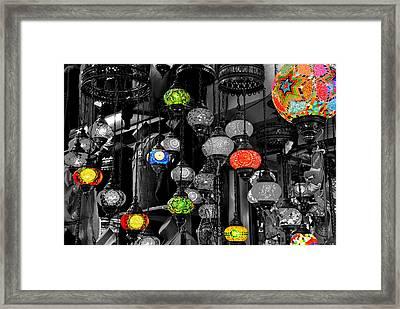 Bazar Framed Print by Ernesto Cinquepalmi