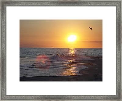 Beach #6 Framed Print