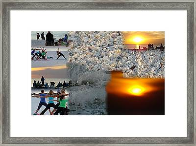 Beach Life Framed Print