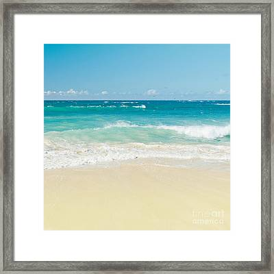 Beach Love Framed Print