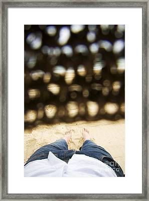Beach Sleeper Framed Print by Jorgo Photography - Wall Art Gallery