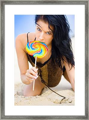 Beach Sweets Framed Print by Jorgo Photography - Wall Art Gallery