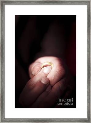 Beach Wedding Framed Print