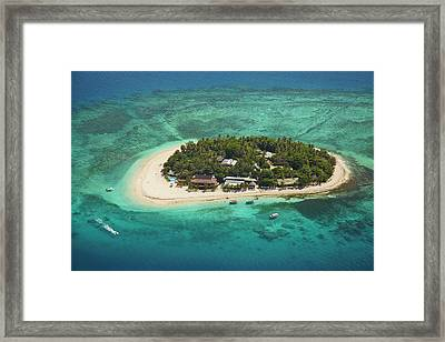 Beachcomber Island Resort, Mamanuca Framed Print