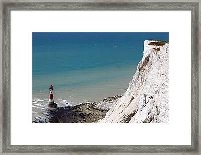 Beachy Head Framed Print by James Brunker