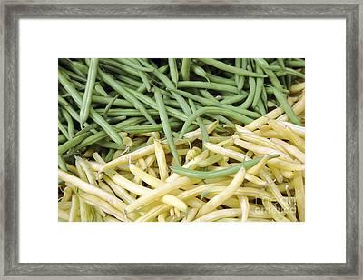 Beans For Sale Framed Print by Bjorn Svensson