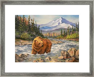 Bear Country Framed Print