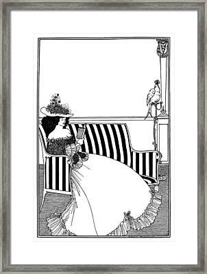 Beardsley Catalog Cover Framed Print