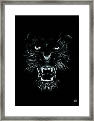 Beast Framed Print by Giuseppe Cristiano