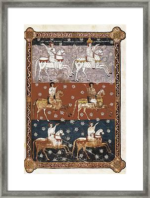 Beatus Of Ferdinand I And Do�a Sancha Framed Print by Everett