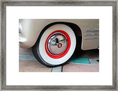 Beautiful In White Framed Print by David Lee Thompson