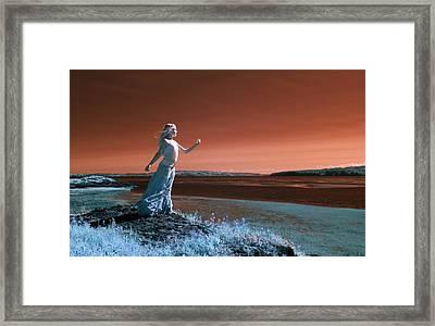 Beautiful Princess Framed Print by Rebecca Parker
