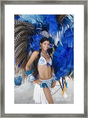 Beautiful Women Of Brazil 9 Framed Print by David Smith