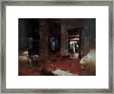 Bedroom Framed Print by H James Hoff