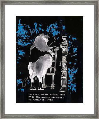 Framed Print featuring the photograph Marketing 2 by Larry Campbell