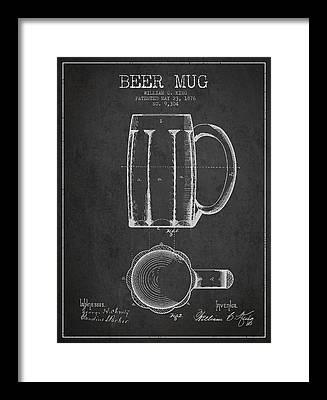 Bars Digital Art Framed Prints