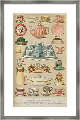 Beeton's Household Management Framed Print by British Library