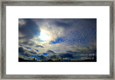 Before Rain Framed Print