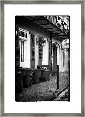 Before The Crowds Framed Print by John Rizzuto