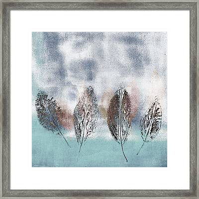 Beginning Of Winter Framed Print by Carol Leigh