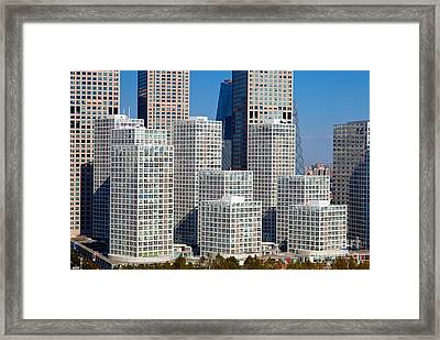Beijing Central Business District China Framed Print by Fototrav Print
