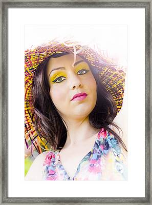 Being Your Own Person Framed Print