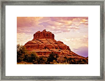 Bell Rock Vortex Painting Framed Print