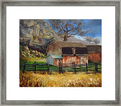 Bellvue Barn Framed Print