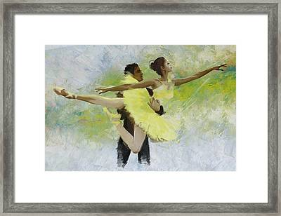 Belly Dancers Framed Print by Corporate Art Task Force